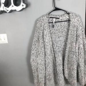 Kensie Fuzzy Oversized Cardigan XXL